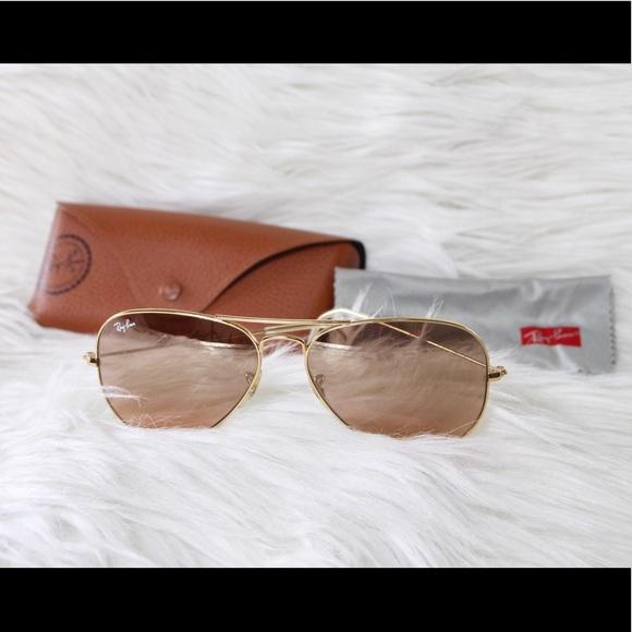 78a1e31c15 Ray-Ban Aviator Sunglasses Gold Rose Lens. M 5c2555b4409c150611e5e5a6.  Other Accessories ...